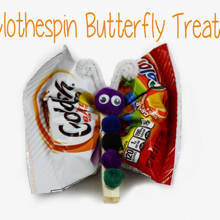 Butterfly Treats for Back To School Fun