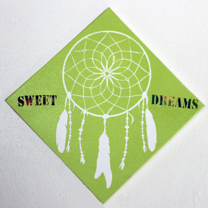 Design #5: Dream Catcher! (One Cut- Two Projects!) Using Vinyl as a Stencil (Project #2)
