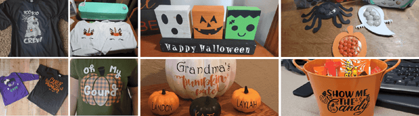 5 DIY Halloween Decorations with Cricut