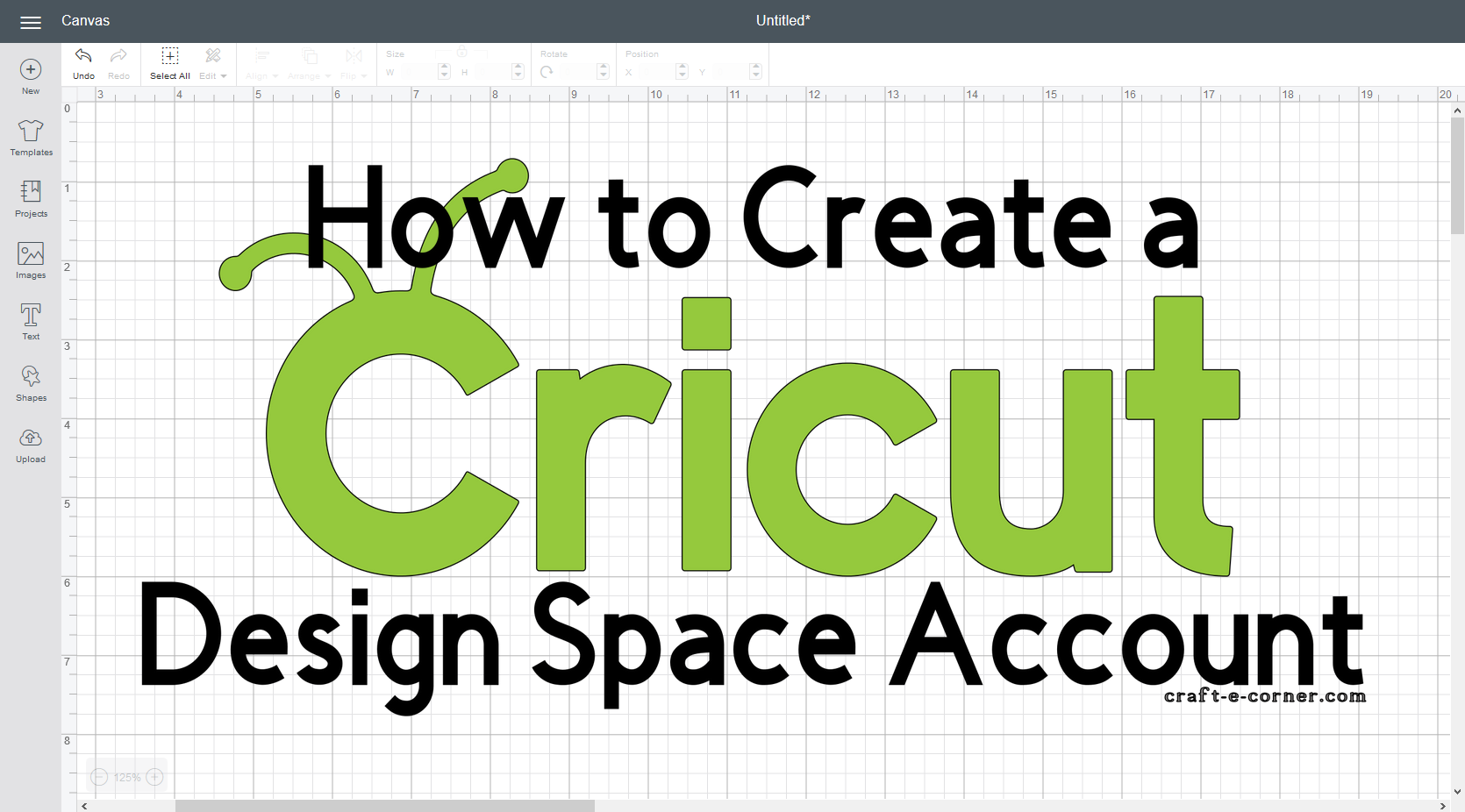 How to Create a Cricut Design Space Account