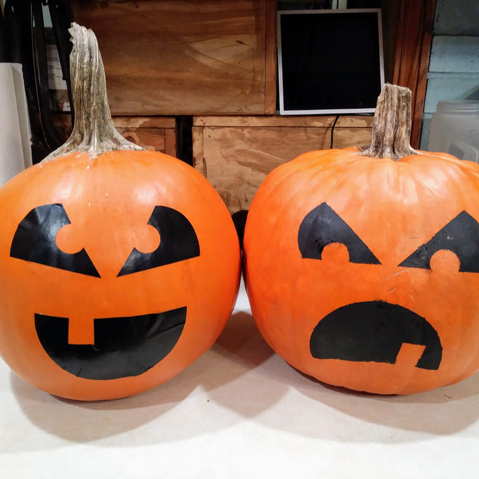 Last Minute Jack o Lanterns Two Ways With Your Cricut