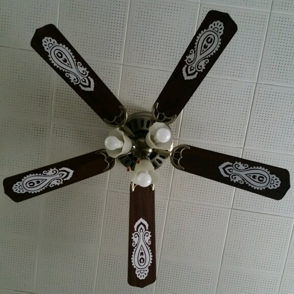 Updating a Ceiling Fan: A Cricut Rescue Story