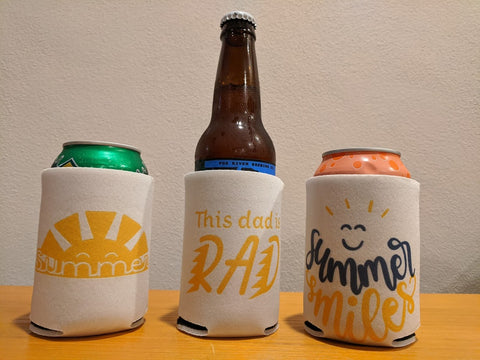 Cricut Infusible Ink Personalized Can Koozies