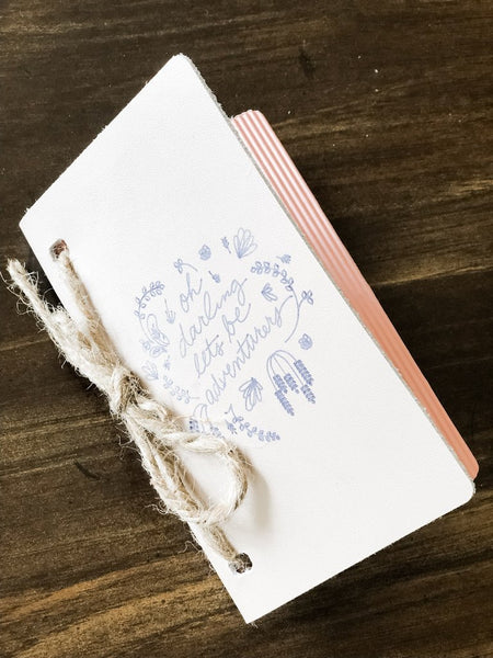 DIY LEATHER JOURNAL WITH CRICUT MAKER