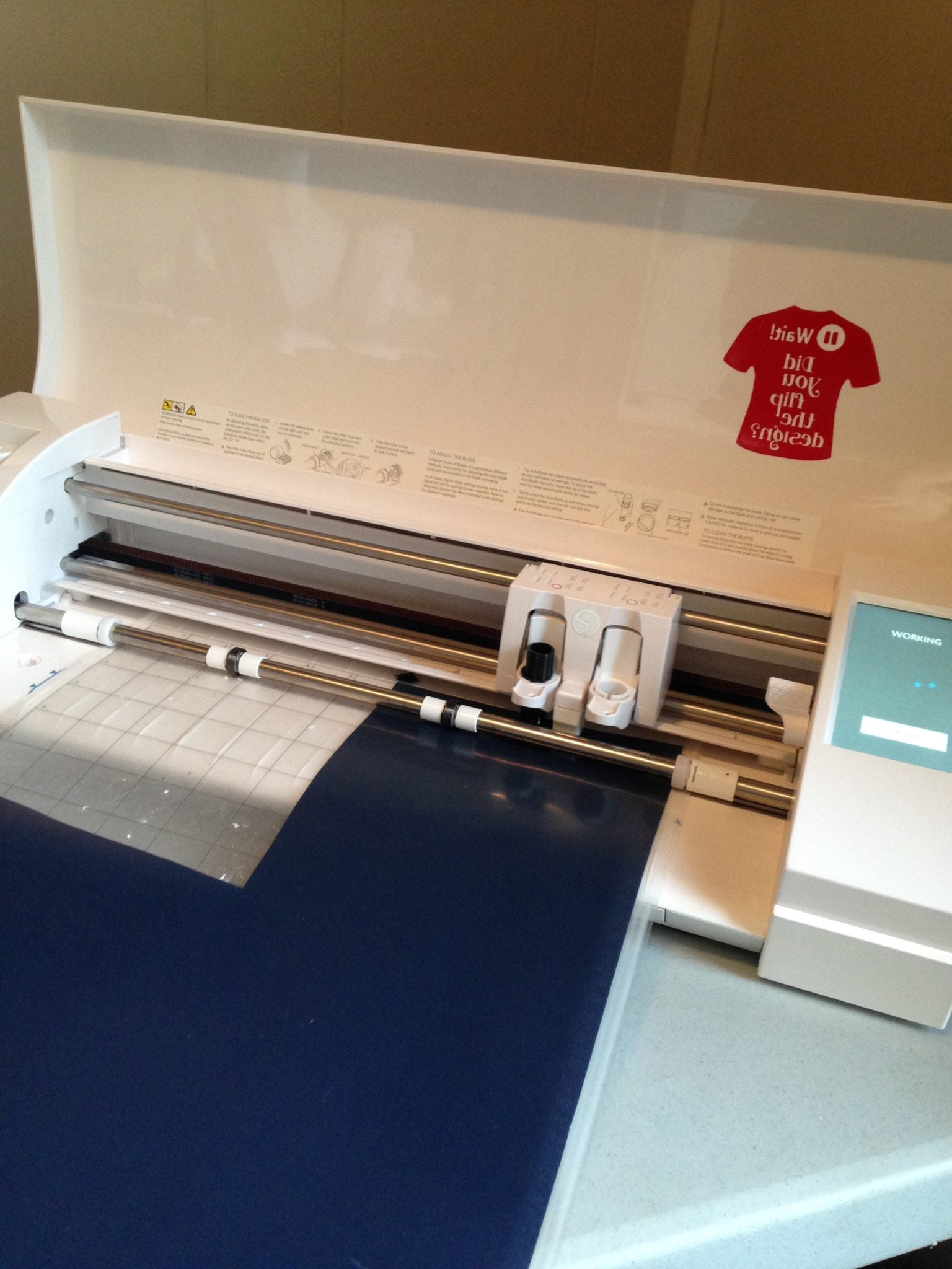Silhouette Tip: Changing where you cut on your Silhouette cutting mat with help prolong the life of your cutting mat.
