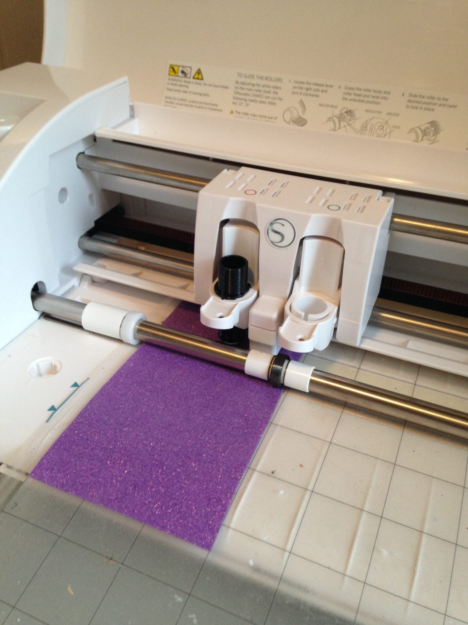 Cutting glitter heat transfer vinyl, plus tips and tricks on how to weed.