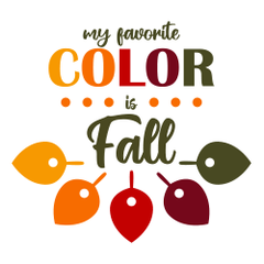 My Favorite Color is Fall