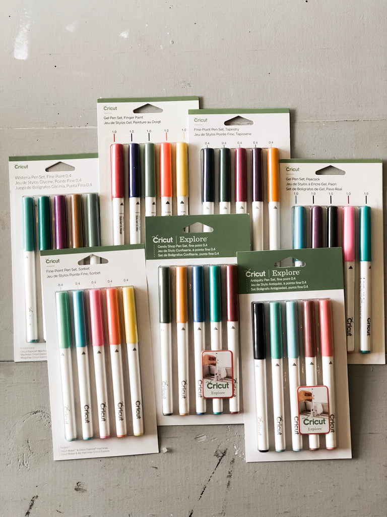 Cricut Mega Pen Set Bundle