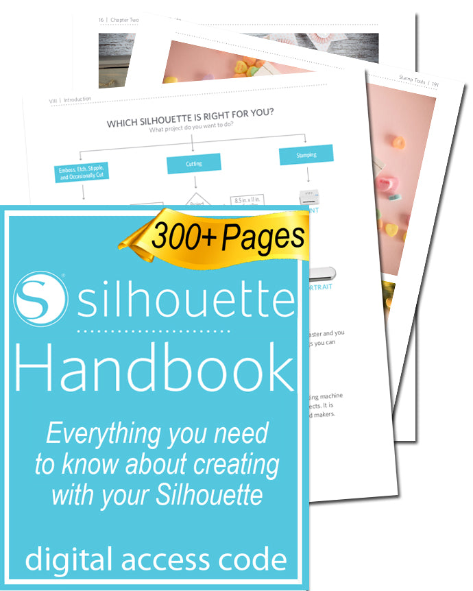 The Silhouette Handbook is great for beginner Cameo users, and even for advanced users!