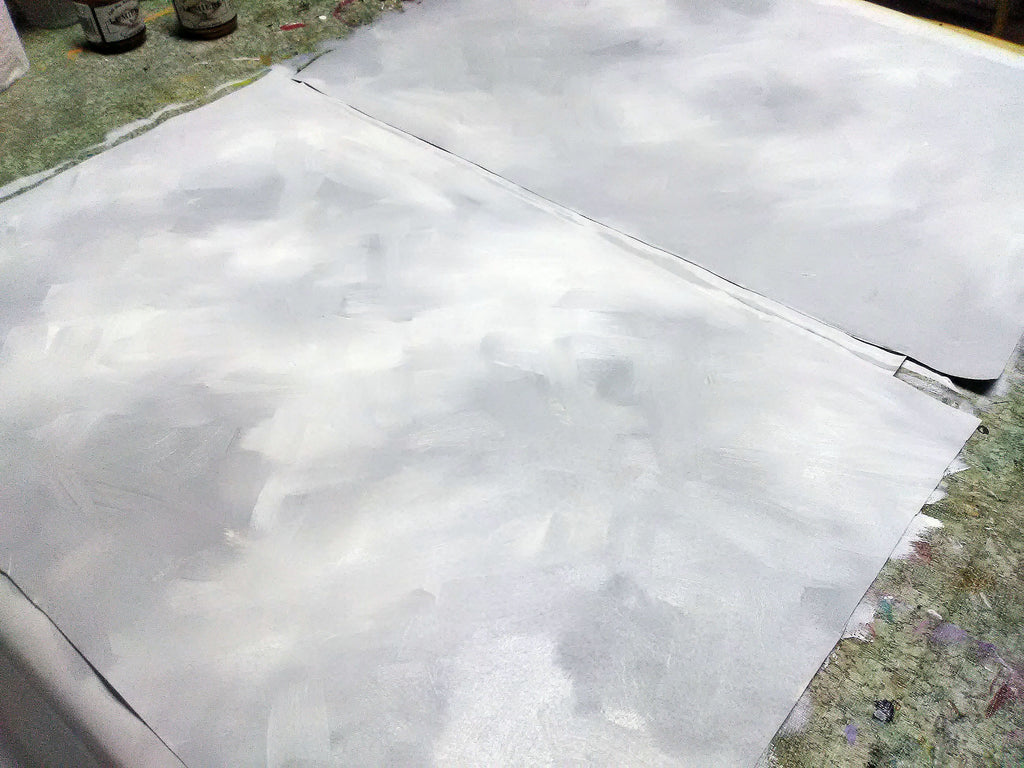 base coat on fabric
