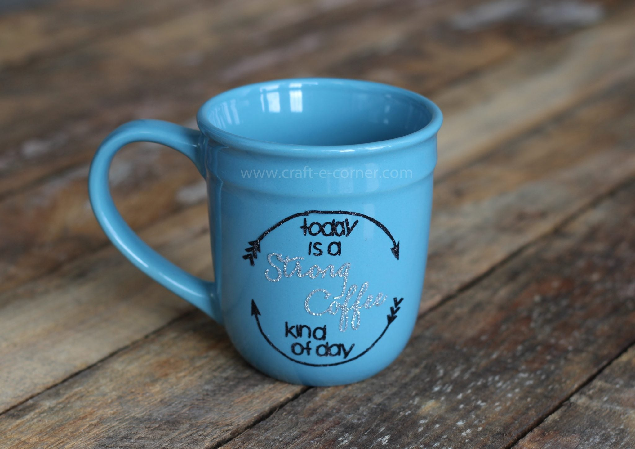 Personalized coffee cups make great gifts- find out how (and how not to) make your own.