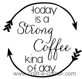 Today is a strong coffee kind of day- exclusive heat transfer design.