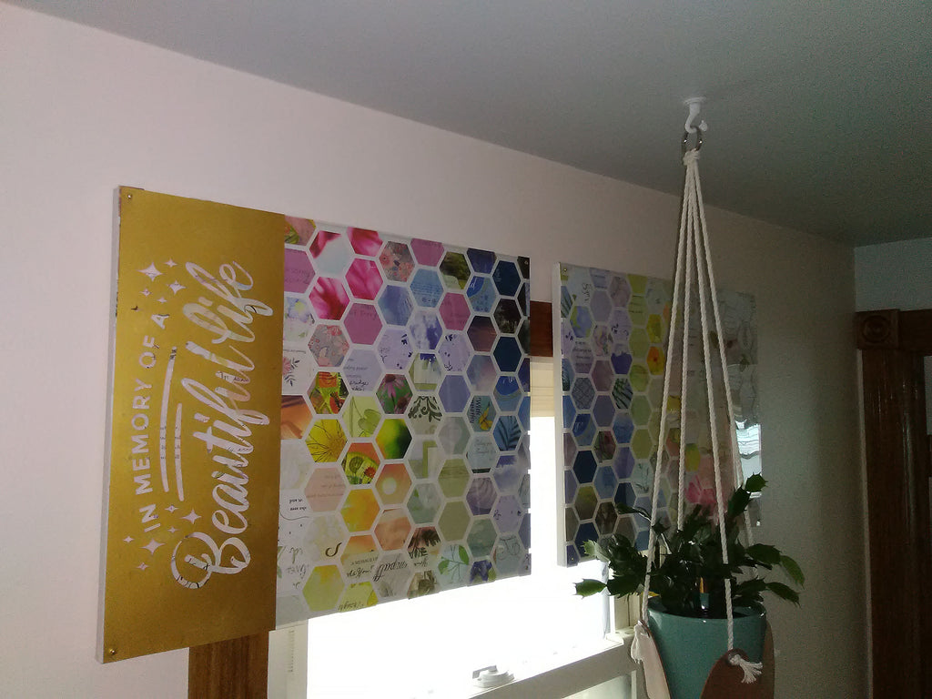 completed wall decor