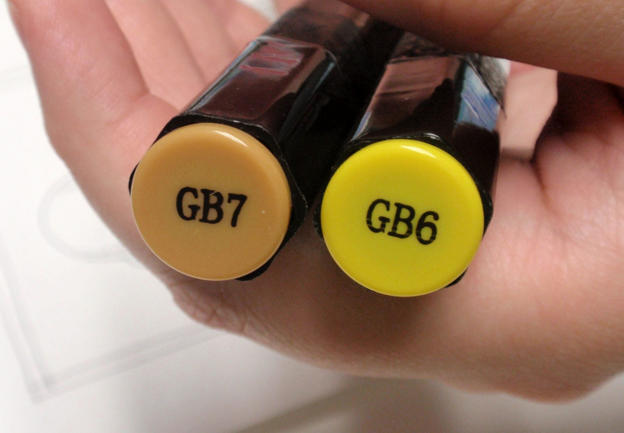 GB6 and GB 7 pens