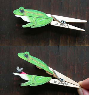 frog clothespin