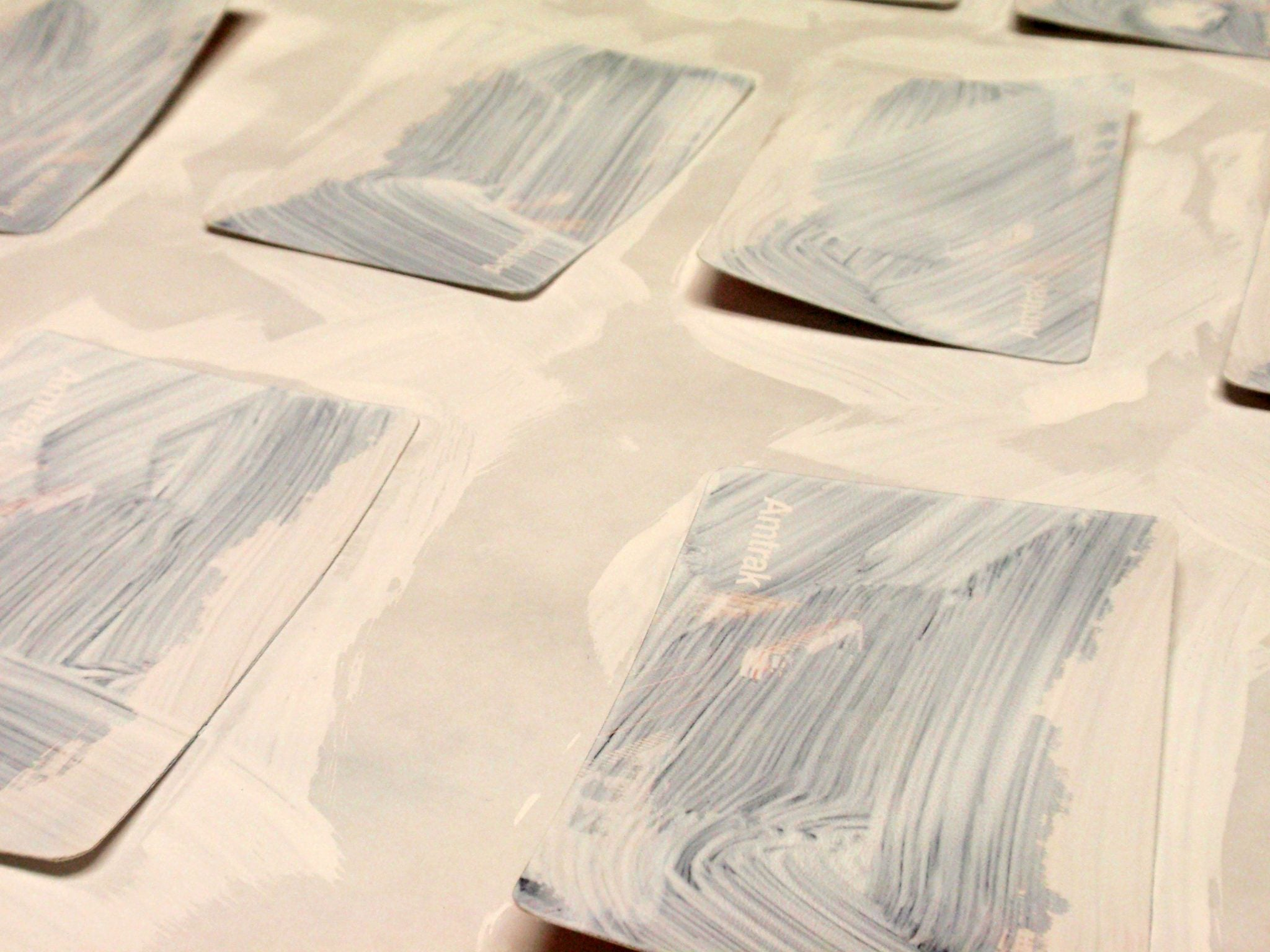gesso cards
