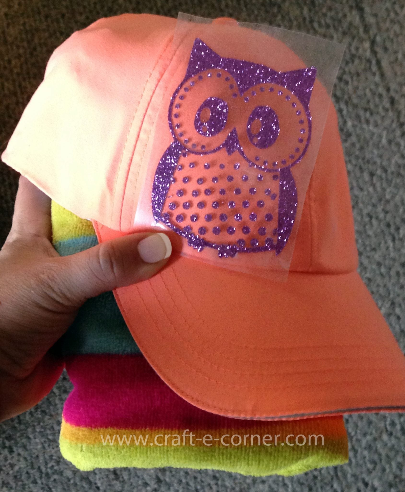 how to put htv on a hat tutorial water
