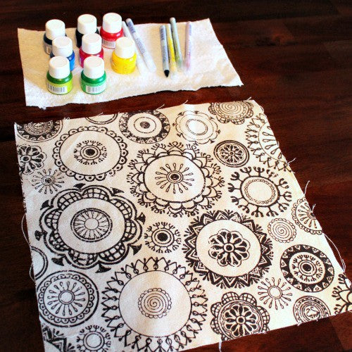 Burst Of Color! All Purpose Ink On Canvas Project Tutorial