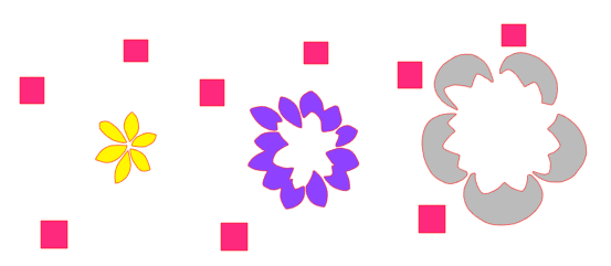 middle flower