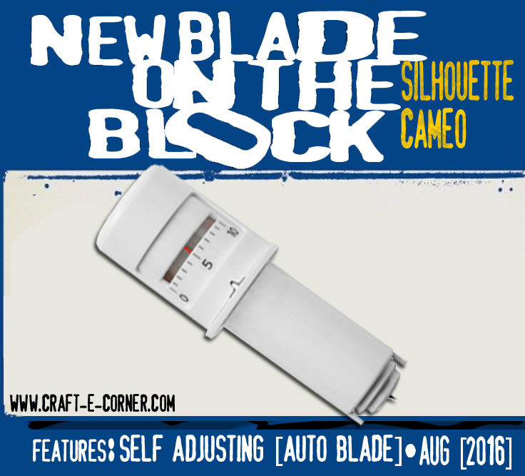 New Silhouette Auto Adjusting Blade. AKA Self Adjusting Blade. All you need to know about the new Cameo 3 blade!