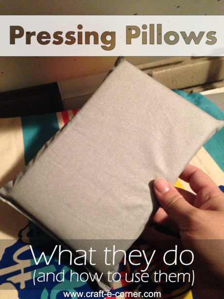 What are heat pressing pillows? How to use a heat press pillow? Find out all about pressing pillows and how they can help you with heat transfer vinyl projects!