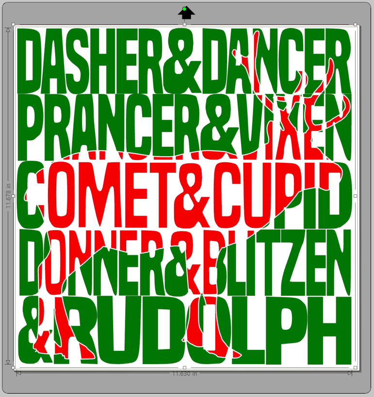 silhouette_reindeer_knockout_design_christmas