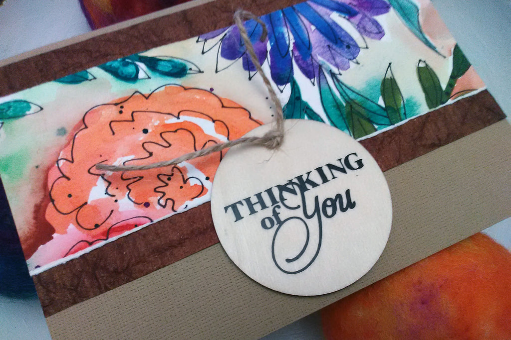 think of you card close up