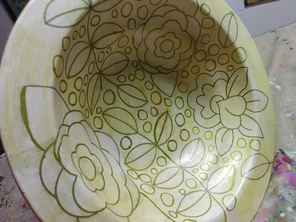 bowl ready to paint