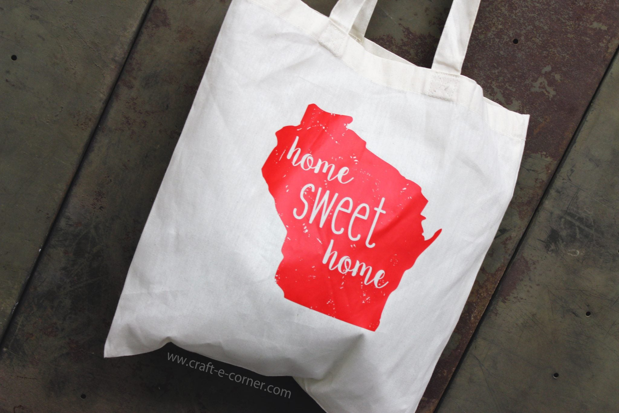 Wisconsin state bag!