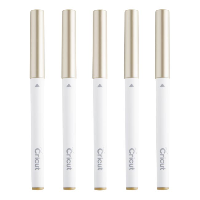 Cricut Multi Pen Set Gold - craft-e-corner.com