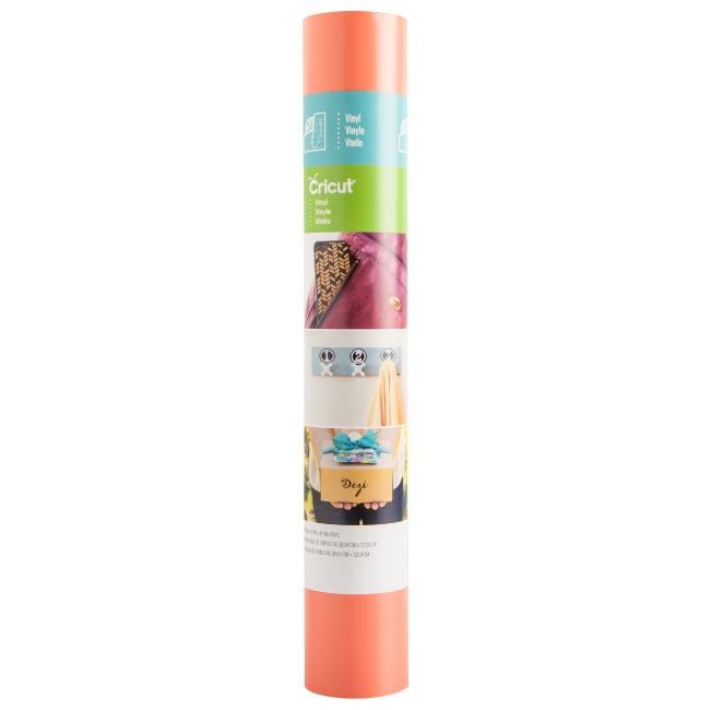 Cricut Permanent Coral, Mint, White 12x48 Vinyl & Transfer Tape Bundle for Elegant DIY Decor Projects - craft-e-corner.com