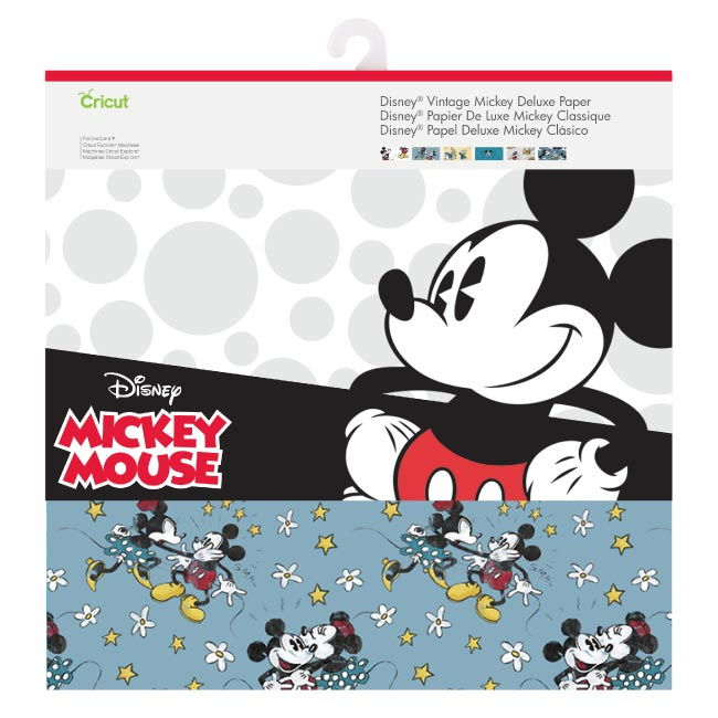 Cricut Vintage Mickey Mouse & Friends  with Tools, Pens and Project Guide Bundle - www-craft-e-corner-com