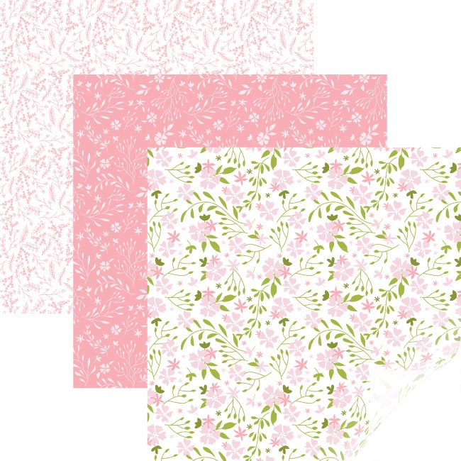 Cricut Patterned Iron-on Sampler In Bloom Pink