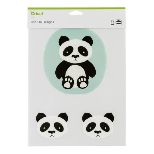 Cricut Iron-on Designs Panda