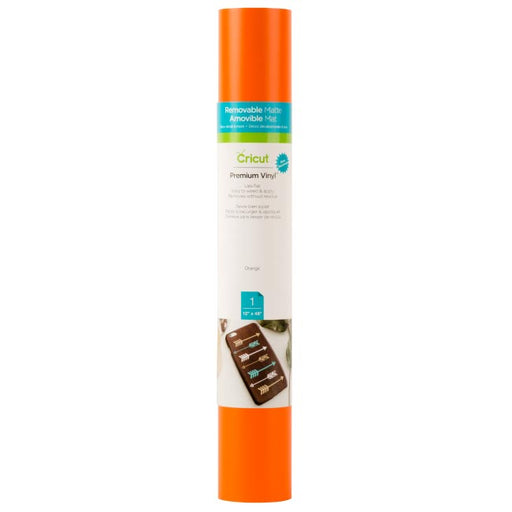 Cricut Premium Orange Vinyl Roll - www-craft-e-corner-com