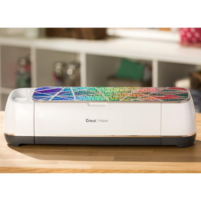 Cricut  Permanent  Vinyl Holographic Bubbles - Blue - craft-e-corner.com