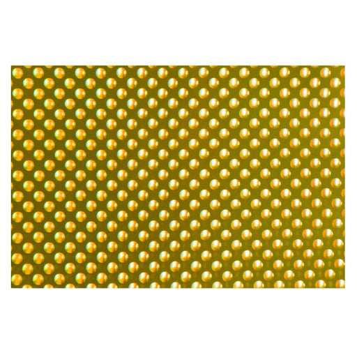 Cricut Premium Permanent Vinyl Holographic Bubbles - Gold