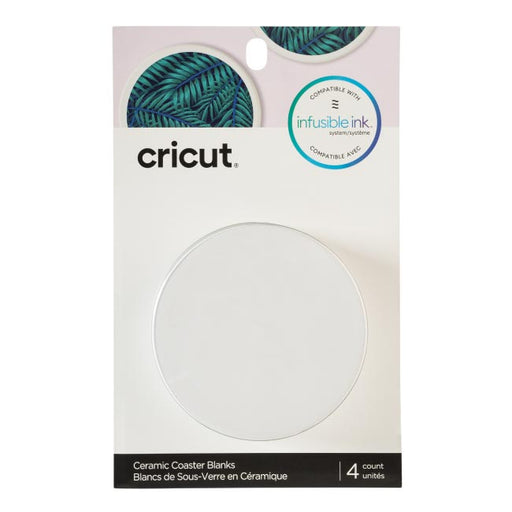 Cricut Coaster Blanks, Ceramic - Craft-e-Corner