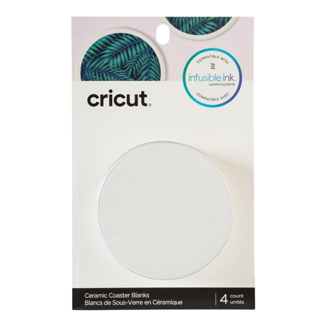 Cricut Coaster Blanks, Ceramic - craft-e-corner.com