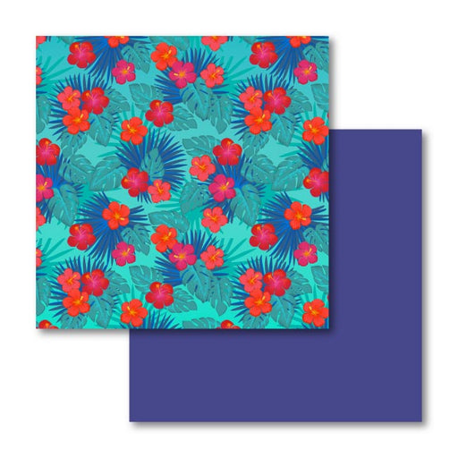 Cricut Infusible Ink Transfer Sheet Patterns, Tropical Floral - craft-e-corner.com