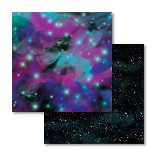 Cricut Patterned Transfer Sheets, Galaxy Print Infusible Ink - craft-e-corner.com