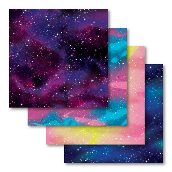 Cricut Patterned Transfer Sheets, Galactic Stars Print Infusible Ink - craft-e-corner.com