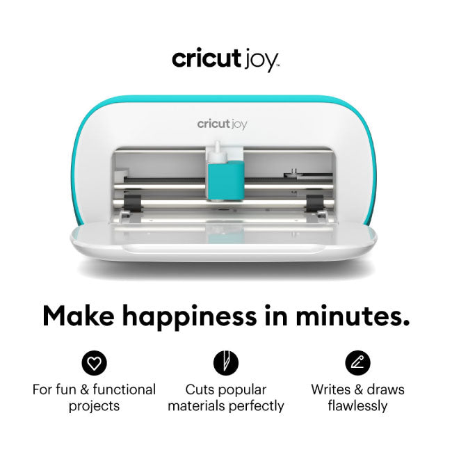 Cricut Joy Smart Machine with Insert Cards & Vinyl for Beginner DIY Projects Bundle