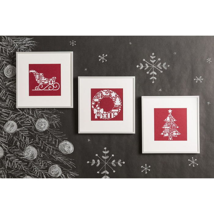 Cricut Premium Permanent Vinyl Christmas Colors Bundle - craft-e-corner.com