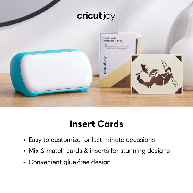 Cricut Joy Insert Cards - Macarons Sampler, 12 ct