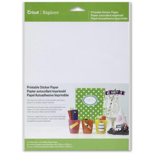 Cricut Machine Bulk Pen Set, DIY Sticker Paper and Essential Tools - www-craft-e-corner-com