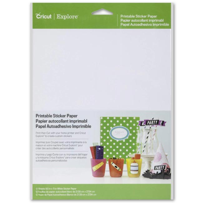 Cricut Machine Bulk Pen Set, DIY Sticker Paper and Essential Tools - craft-e-corner.com