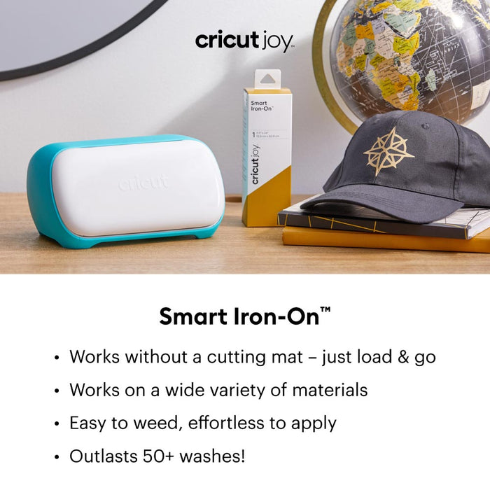 Cricut Joy Smart StrongBond Iron-On HTV Bundle - Black & White