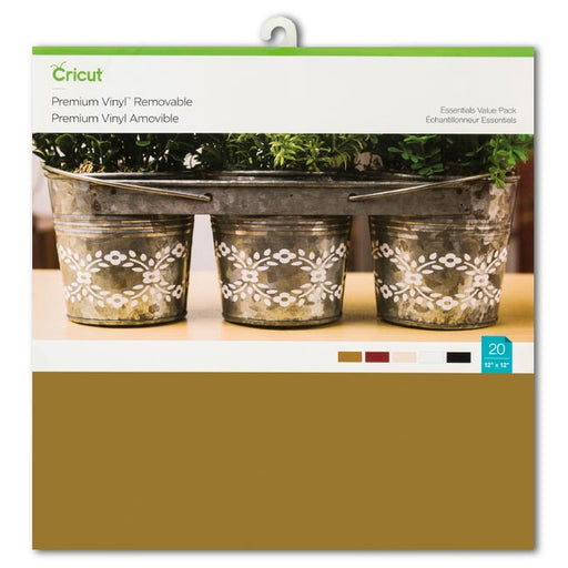 Cricut Premium Vinyl Value Pack Essentials - craft-e-corner.com