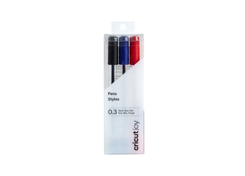Cricut Joy Extra Fine Point Pens 0.3 (3) Black, Blue, Red